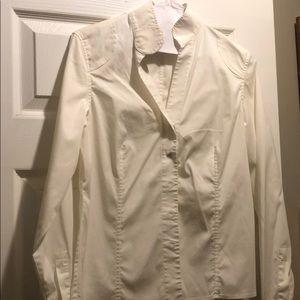 Carlisle white cotton shirt